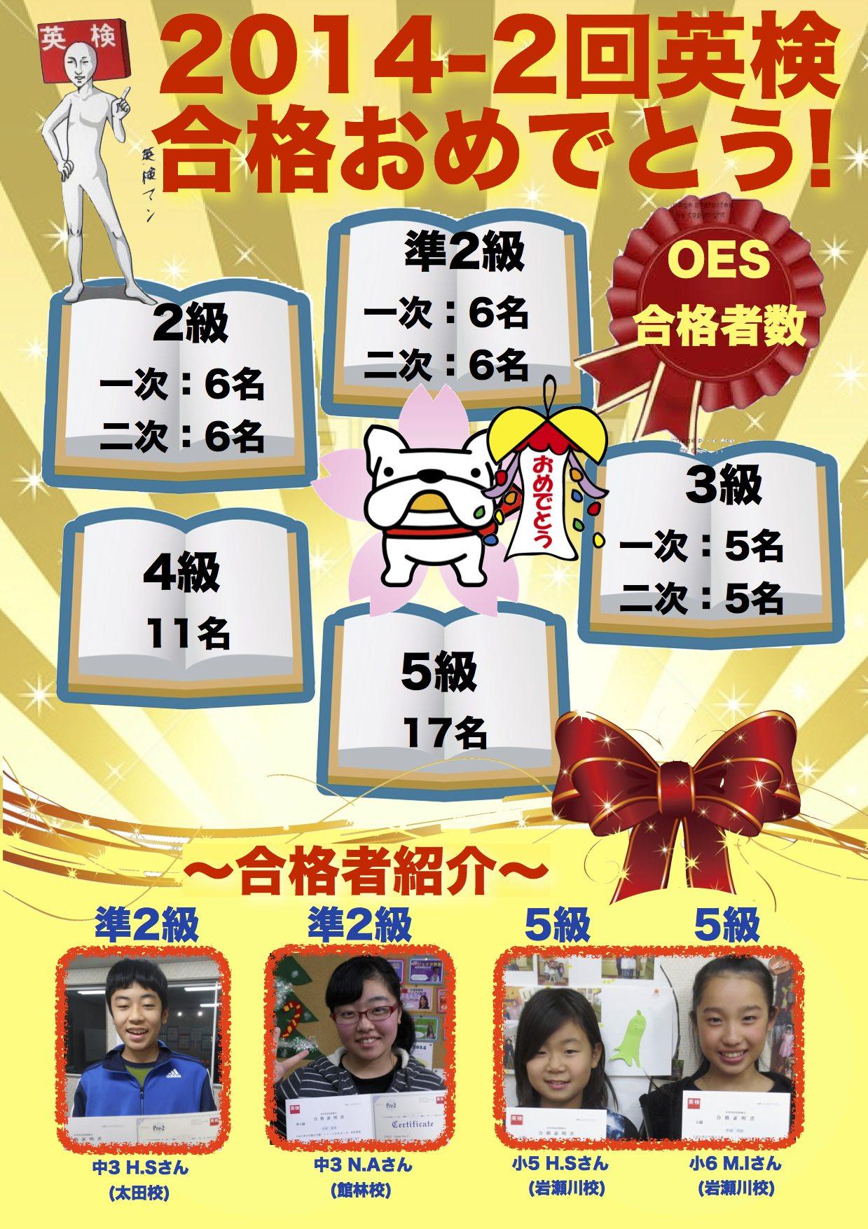 2014-2回英検合格ポスター OTA1 TES1 IW2 WEB用